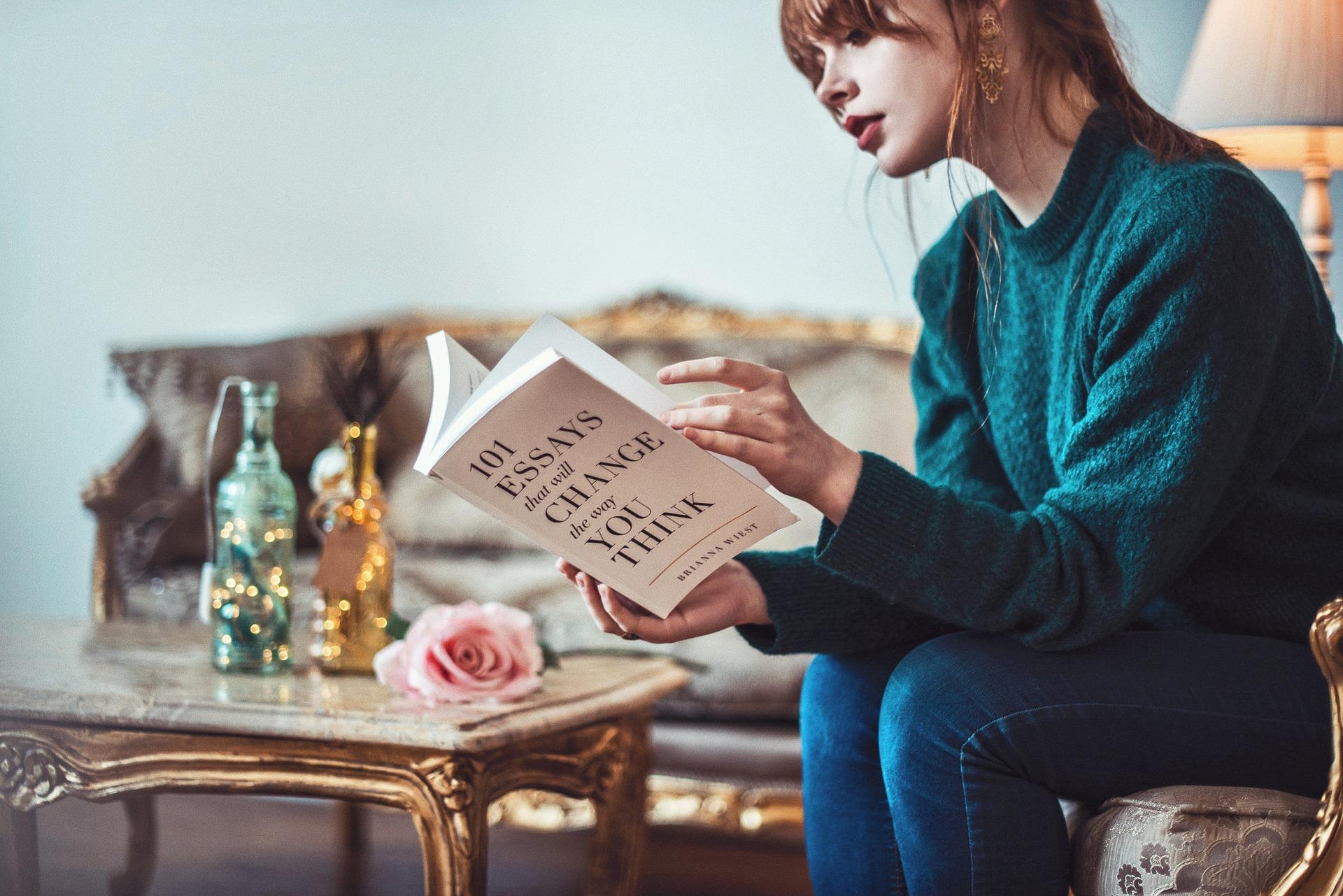 読書の様子