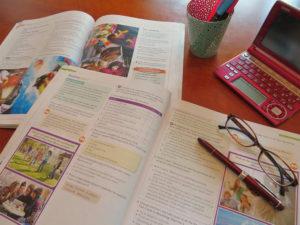 教科書の写真