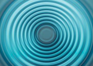 同心円の図