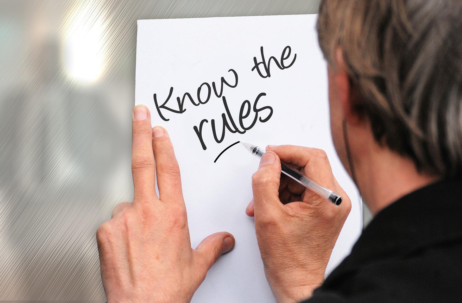ルールを知ろうの写真