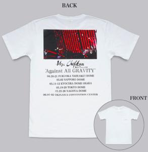 ツアーグッズ(T-shirt)の写真