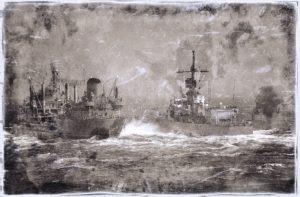 海軍の船の写真