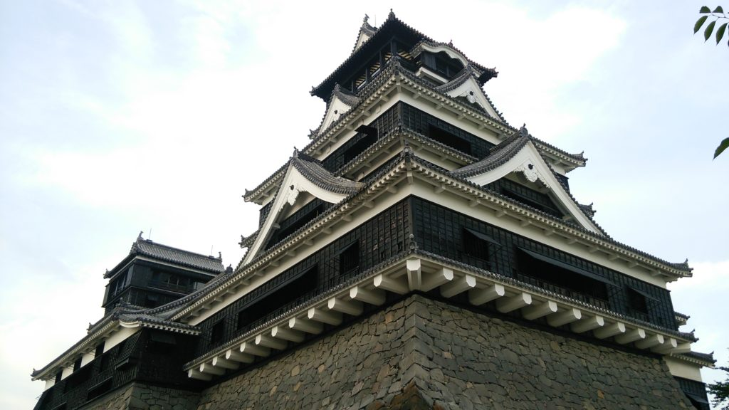 熊本城の写真