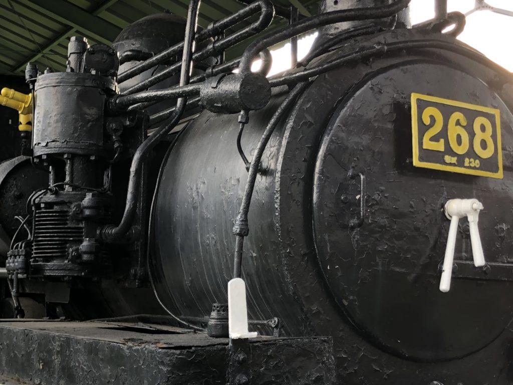 SL機関車の写真2