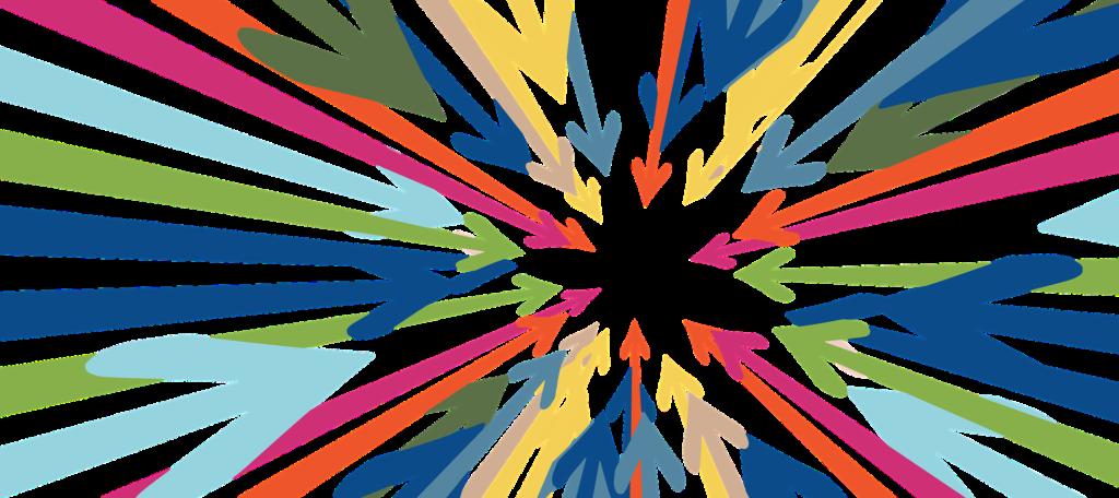 集中を表すイラスト