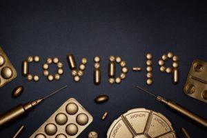コロナウィルスのワクチンのイメージ写真