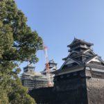 熊本観光!復興シンボル熊本城(天守閣・櫓)加藤清正像・桜の馬場・くまモン・サクラマチを散歩