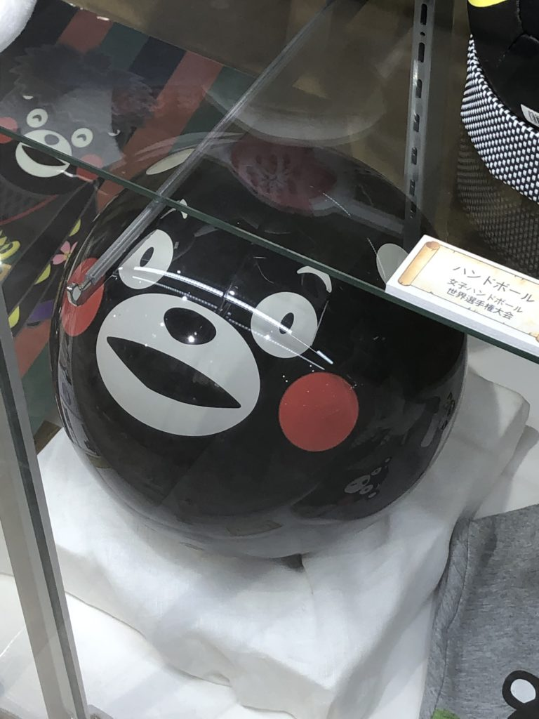 くまモンのボール(ボーリングの玉)