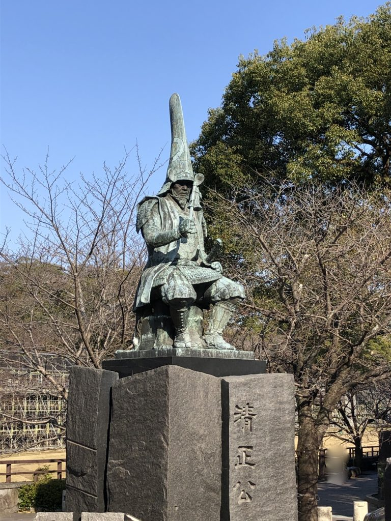 加藤清正の銅像その2