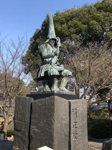 加藤清正の銅像その1