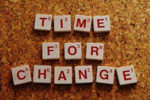 フレーズ「変わる時」の写真