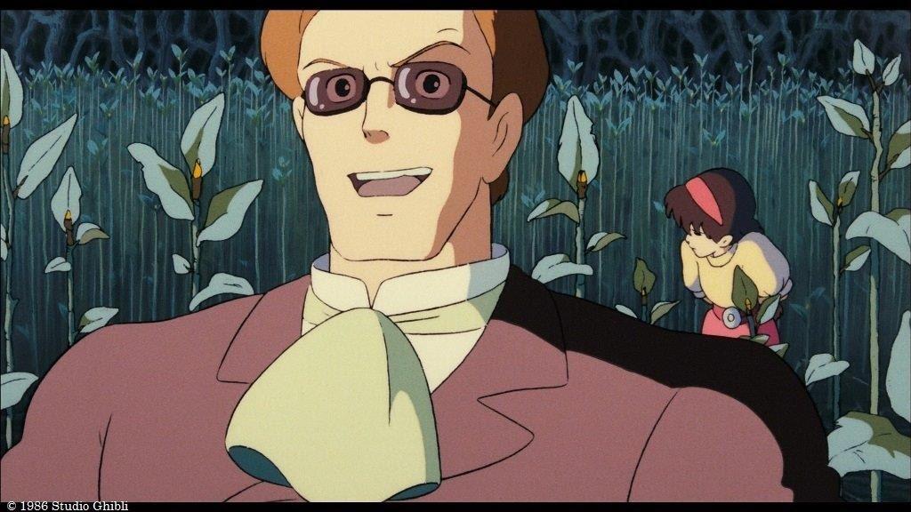 ムスカ大佐「見ろぉ、人がゴミのようだ」のシーンの写真