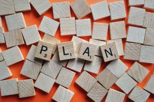 「目標(計画)」の写真