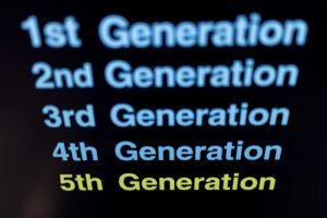 世代(変遷)の写真